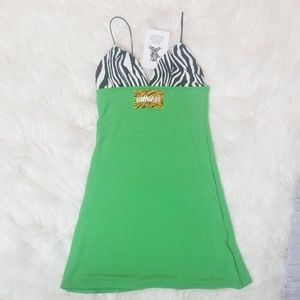 omighty Dresses - Omighty  SLIMEY MINI DRESS
